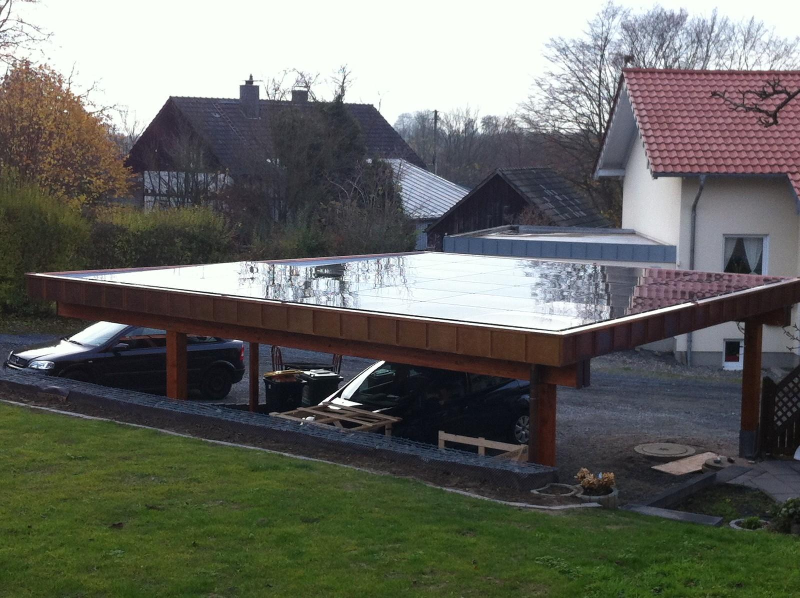 Carport Schueco Solar Hülscheid (2012) – Bedachungen Arnolds GmbH ...