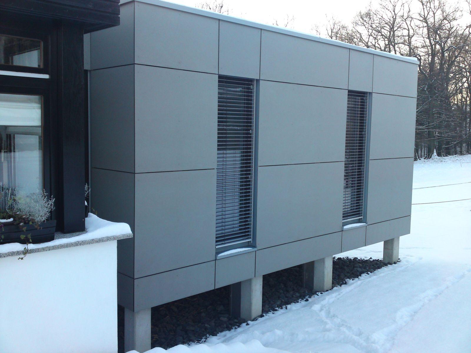 Extrem Architektenfassade Eternit Natura Much – Bedachungen Arnolds GmbH VT41